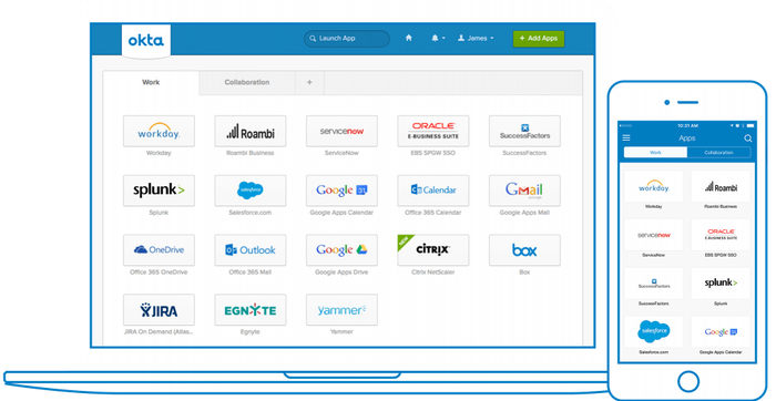 Okta's Single Sign-On product