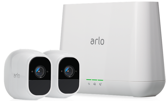 Arlo Technologies Pro 2 security cameras and base station