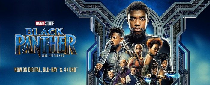 """A poster from the movie """"Black Panther"""""""