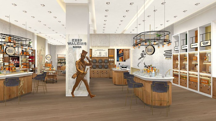 Diageo's first Johnnie Walker flagship retail store