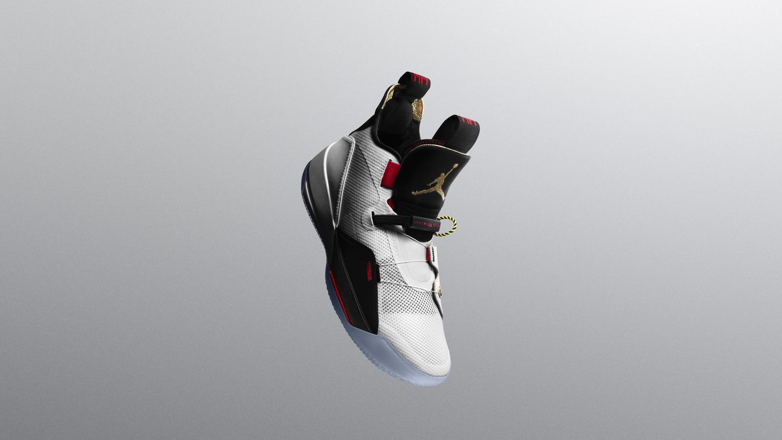 Nike Air Jordan XXXIII shoe.