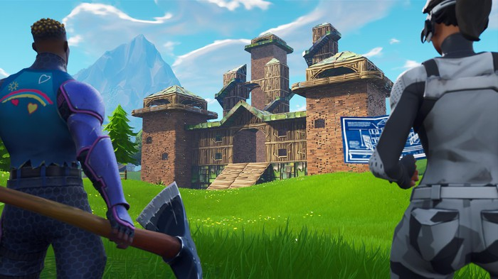 "Epic Games' ""Fortnite""."