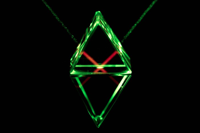 Red and green lasers
