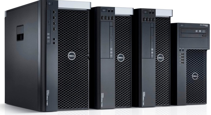 Dell workstations.