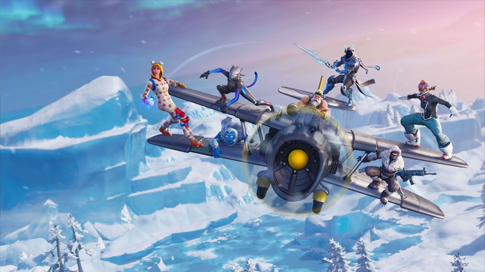 A scene from Epic Games' Fortnite.