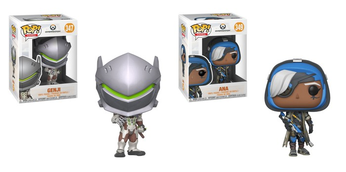 Funko's Overwatch Pop! figures.