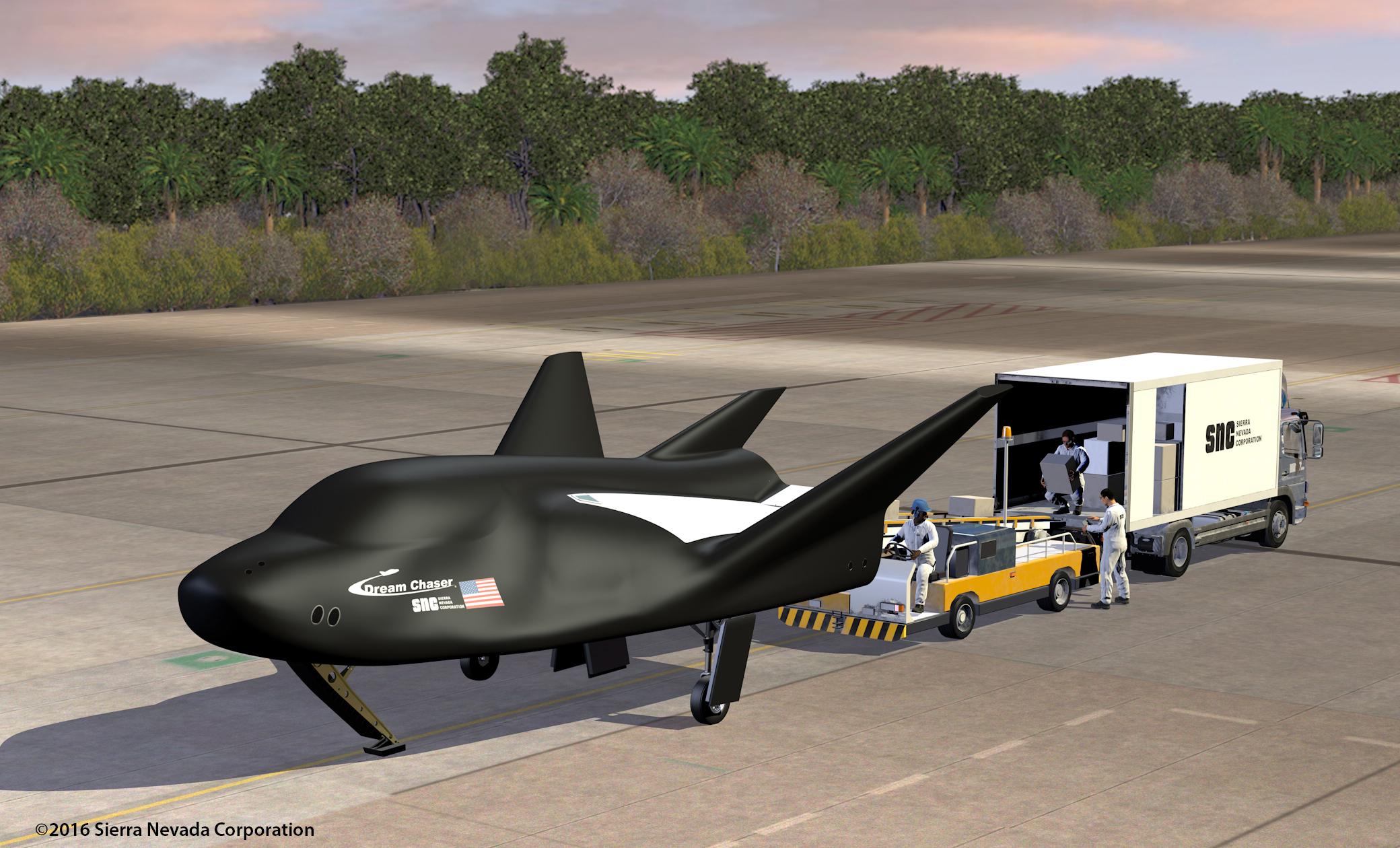 Sierra Nevada's Dream Chaser spaceplane