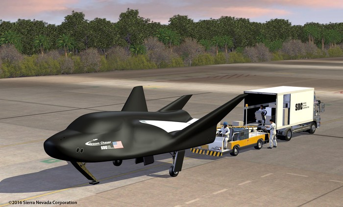 Sierra Nevada's Dream Chaser spaceplane