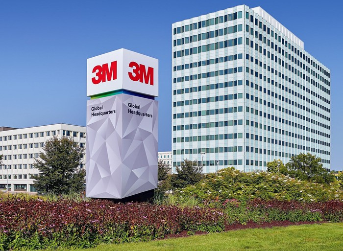 Buildings at 3M headquarters