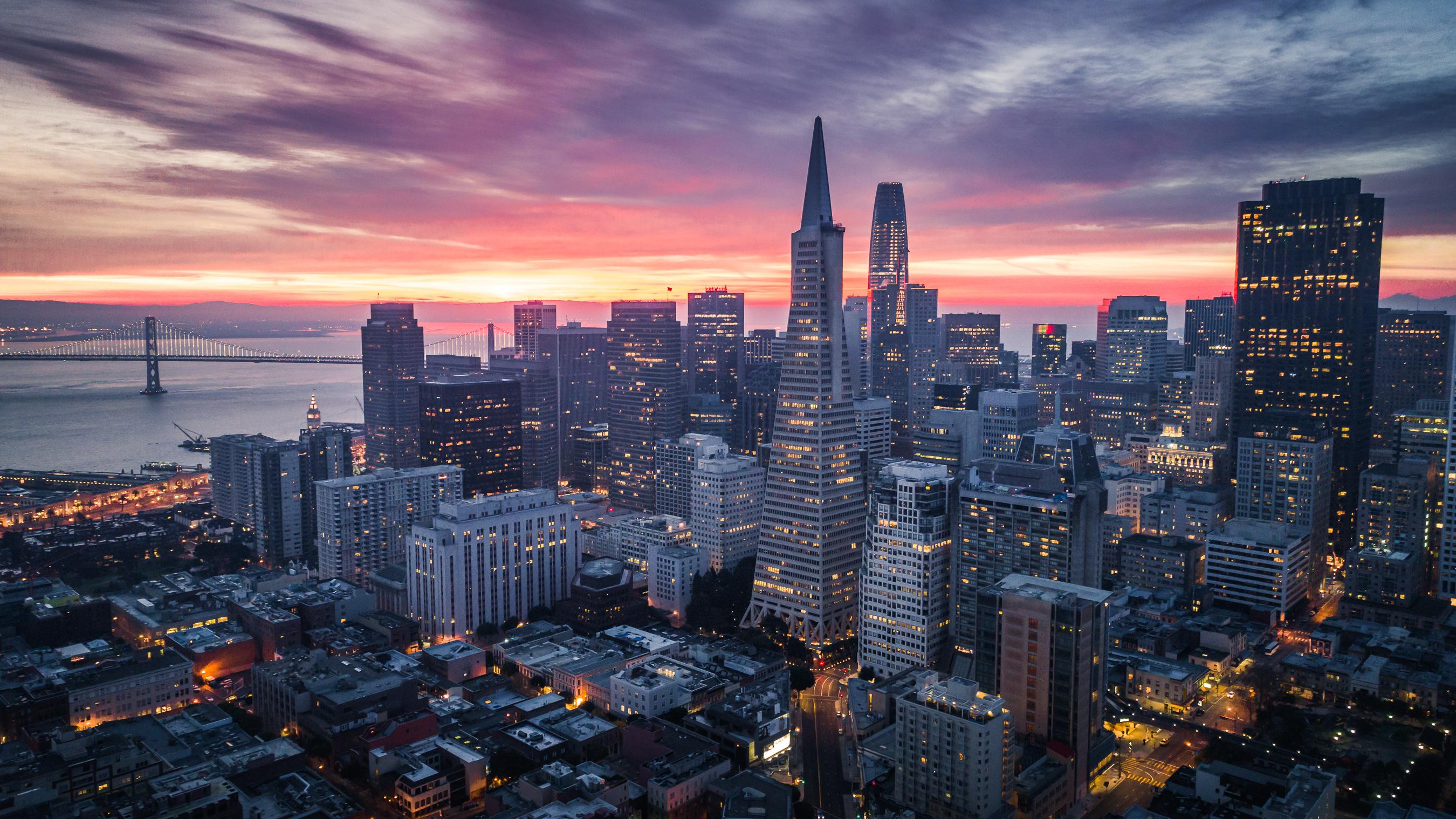 A scene of San Francisco