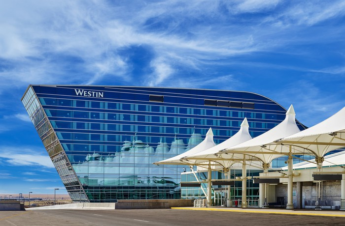 Westin hotel at Denver International Airport
