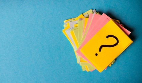 589 question mark cards