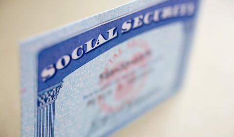 Social Security Card Retire COLA CPIW Benefits Getty