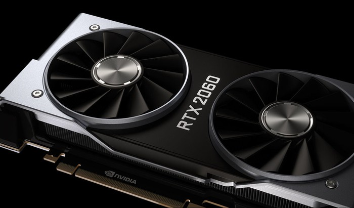 NVIDIA's RTX 2060 graphics card.
