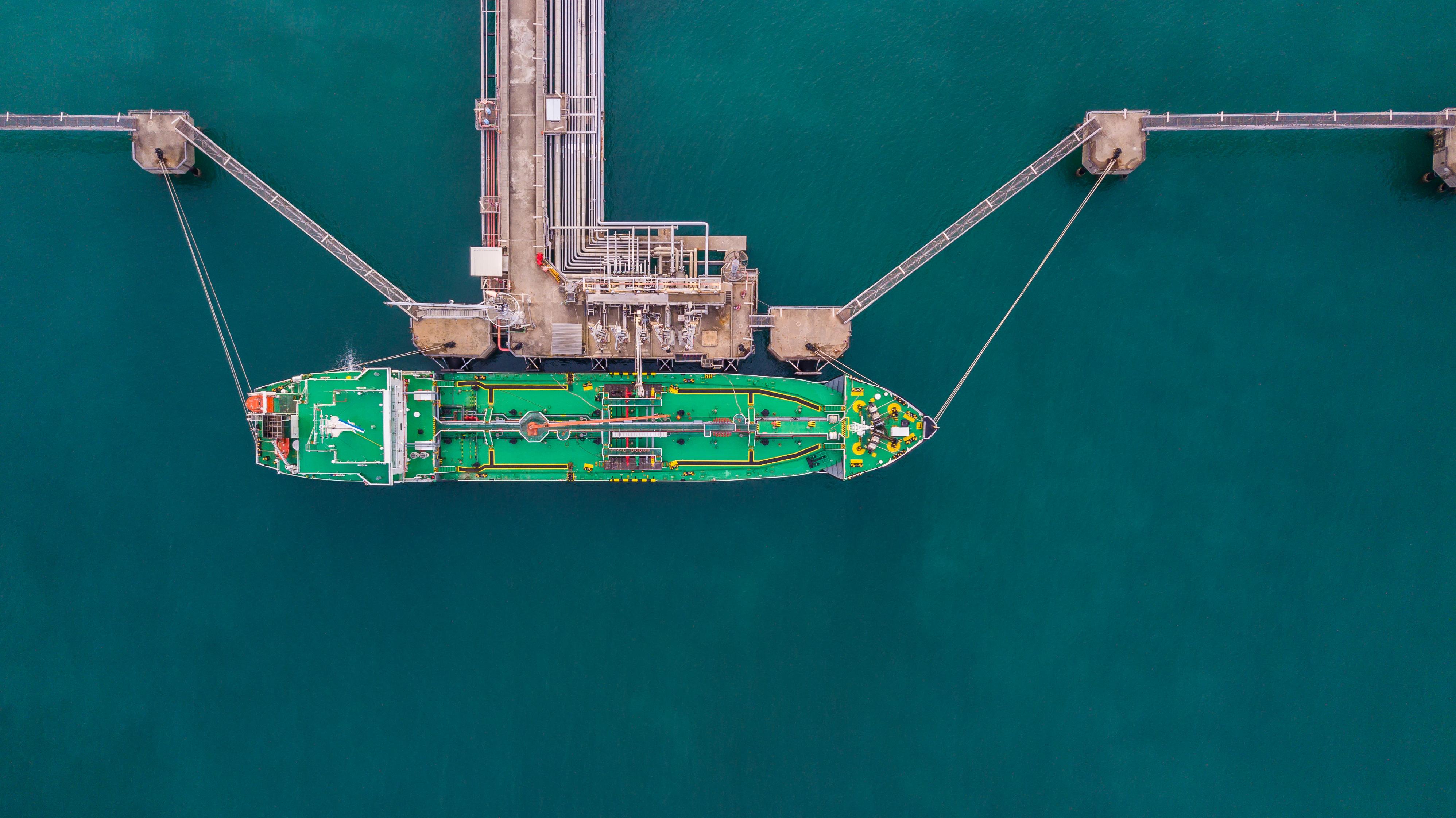 LNG loading facility
