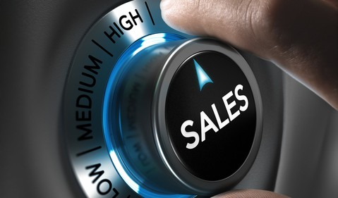 sales growth dial getty