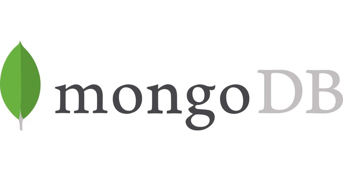 The MongoDB logo.