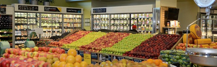Produce department inside a Whole Foods 365 store