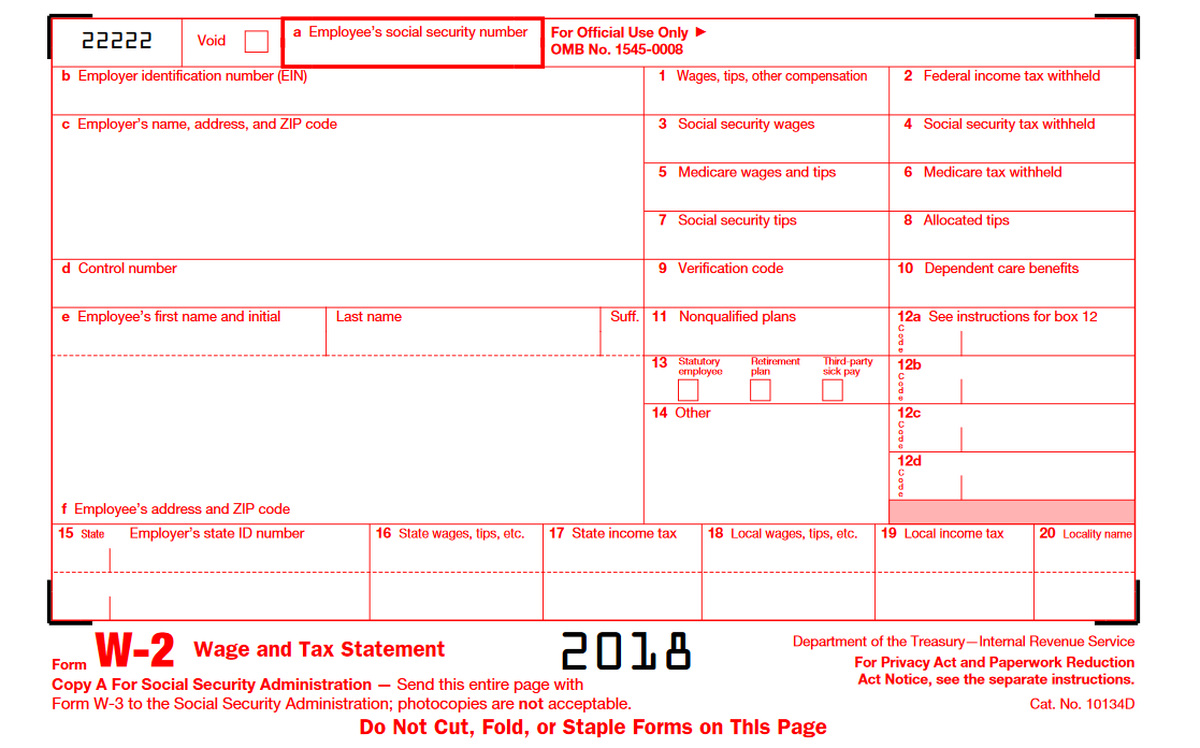 Have Your W 2 Form Here S How To Use It The Motley Fool