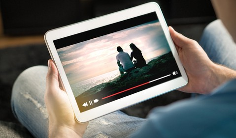 GettyImages-streaming on a tablet