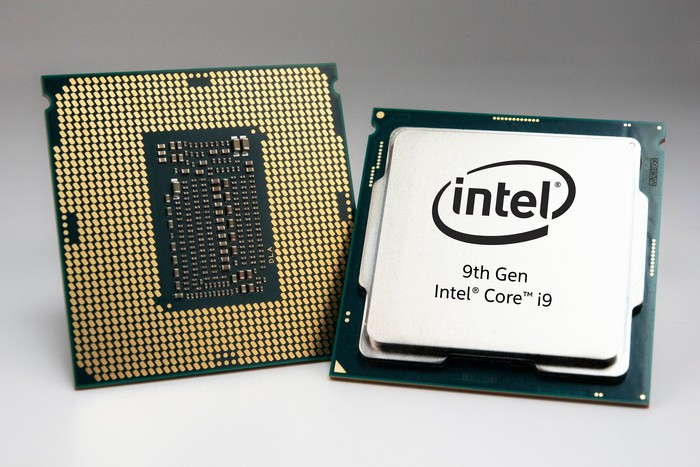 Intel 9th Gen Core desktop chips.