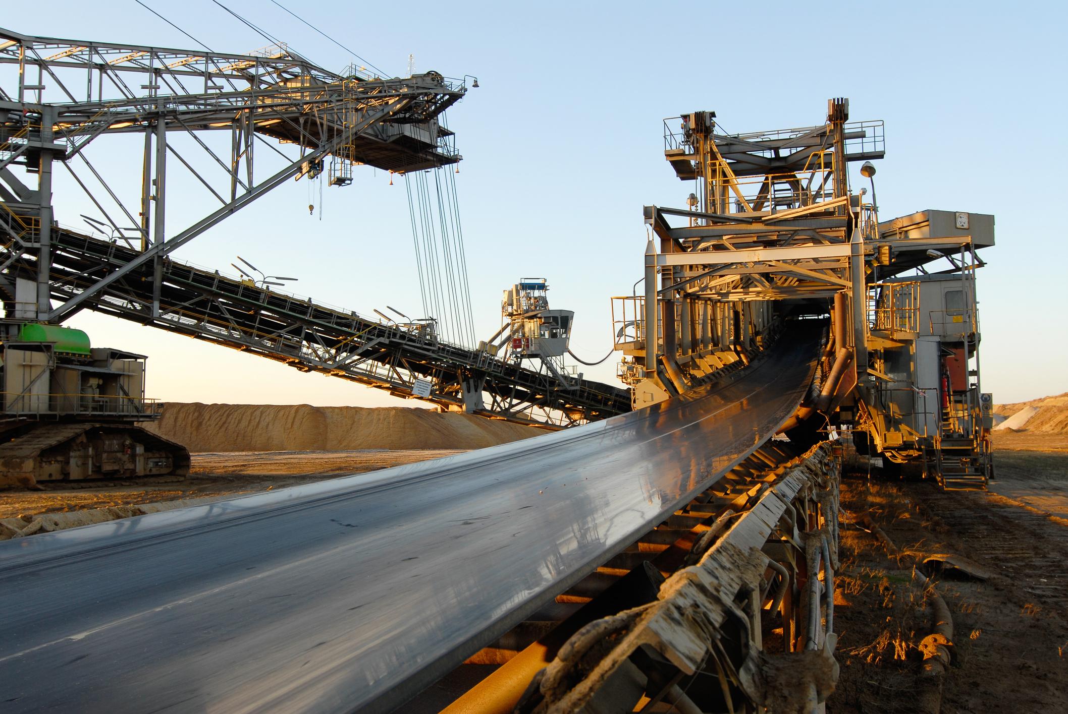 A coal mining project.