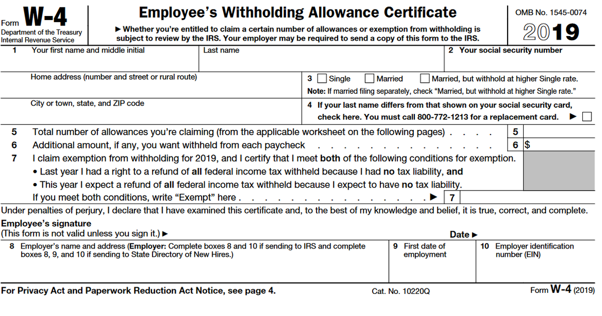 w4 tax form  This Tax Form Can Give You a Bigger Refund | The Motley Fool