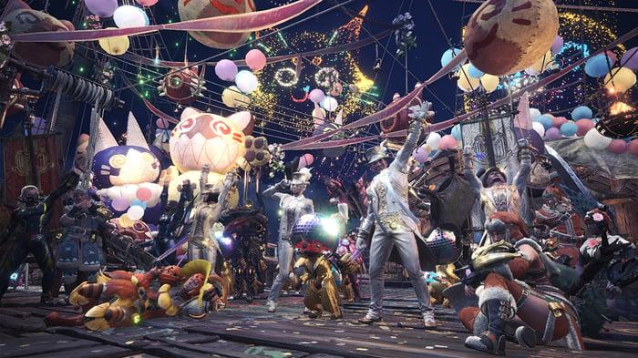 Capcom's Monster Hunter: World.