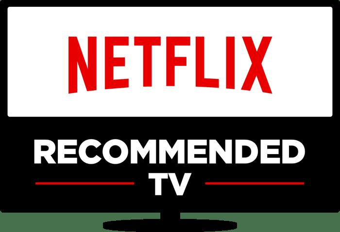 Television icon with Netflix logo and promotional language inside.