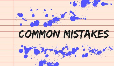 Getty - common mistakes oops stupid moves wrong