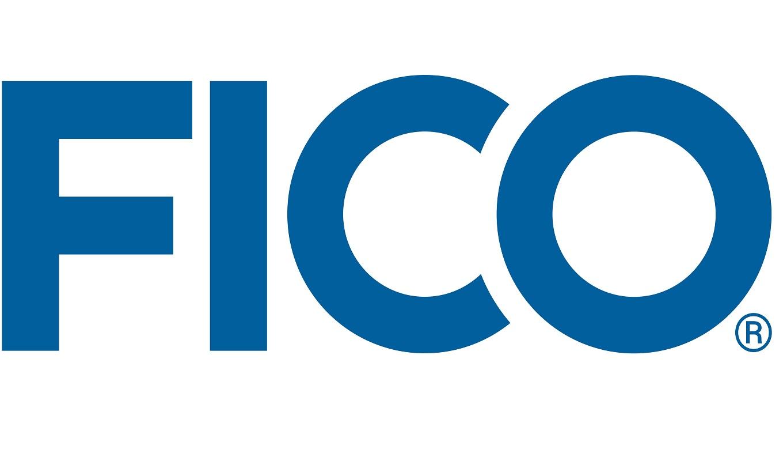 Fair Isaac's FICO logo.