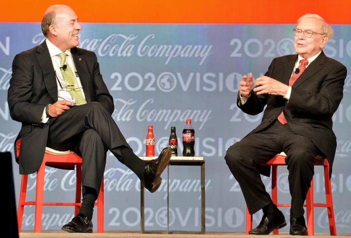 Buffett and ex-Coke CEO Muhtar Kent
