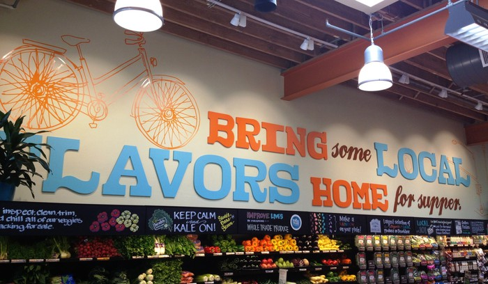 Whole Foods produce departmne