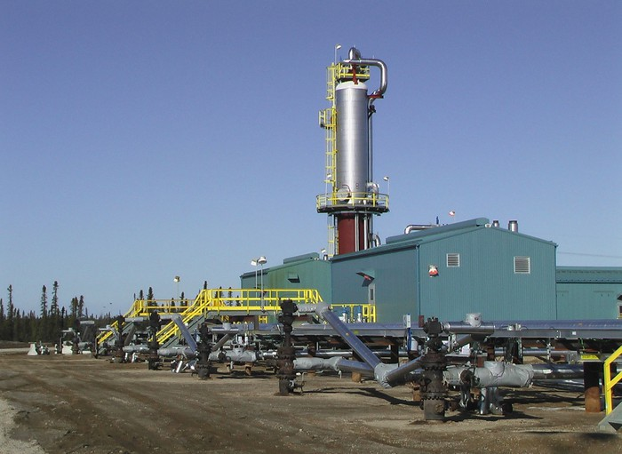 Suncor's Firebag in-situ oil sands facility.