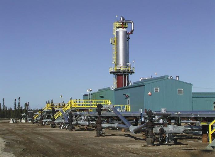 Suncor's Firebag in-situ oil sands facility.