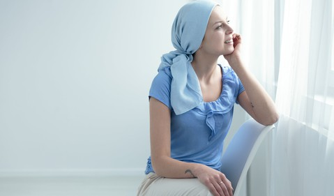 Female cancer patients