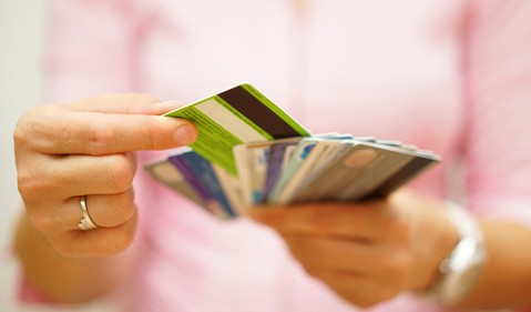Credit cards GETTY