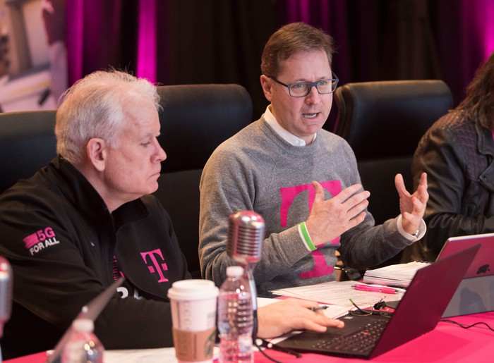 T-Mobile President and COO Mike Sievert.