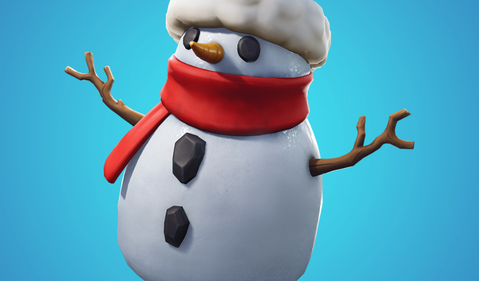 Fortnite Snowman IS Epic Games
