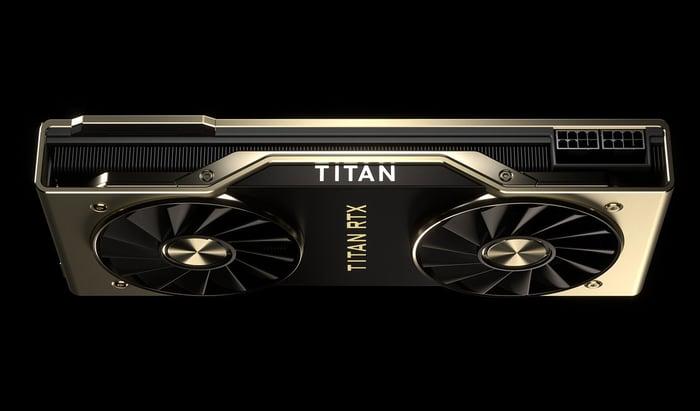 NVIDIA's Titan RTX graphics card.