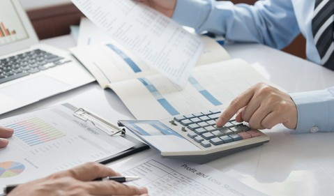 Accounting spreadsheets Getty Images
