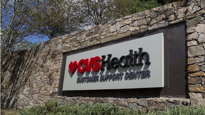 CVS Health corporate sign.