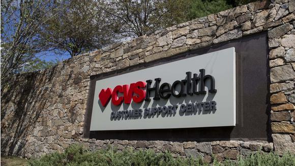 CVS Health corporate sign.