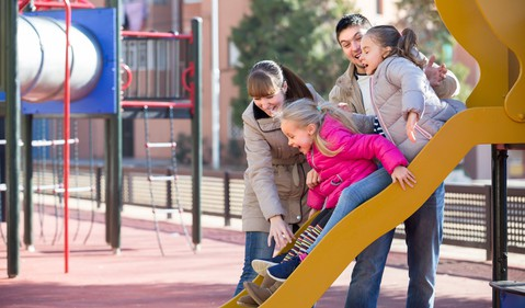 family at playground_GettyImages-640034590