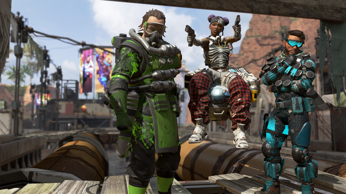 A screenshot from Apex Legends, a recently released Electronic Arts title.