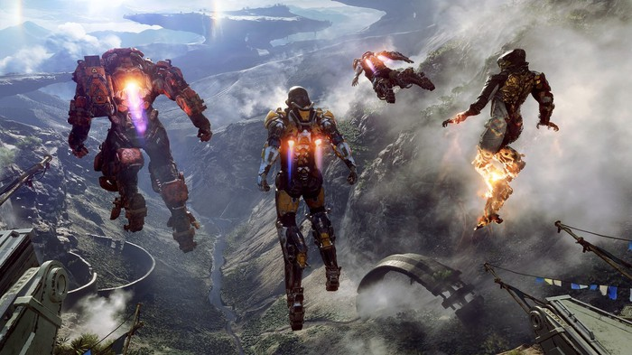 A screenshot from Electronic Arts' Anthem.
