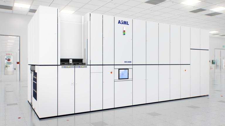An ASML Nexus lithography machine