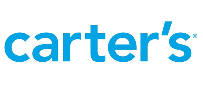 Blue text Carter's Logo