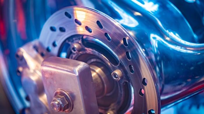 Vehicle braking system components