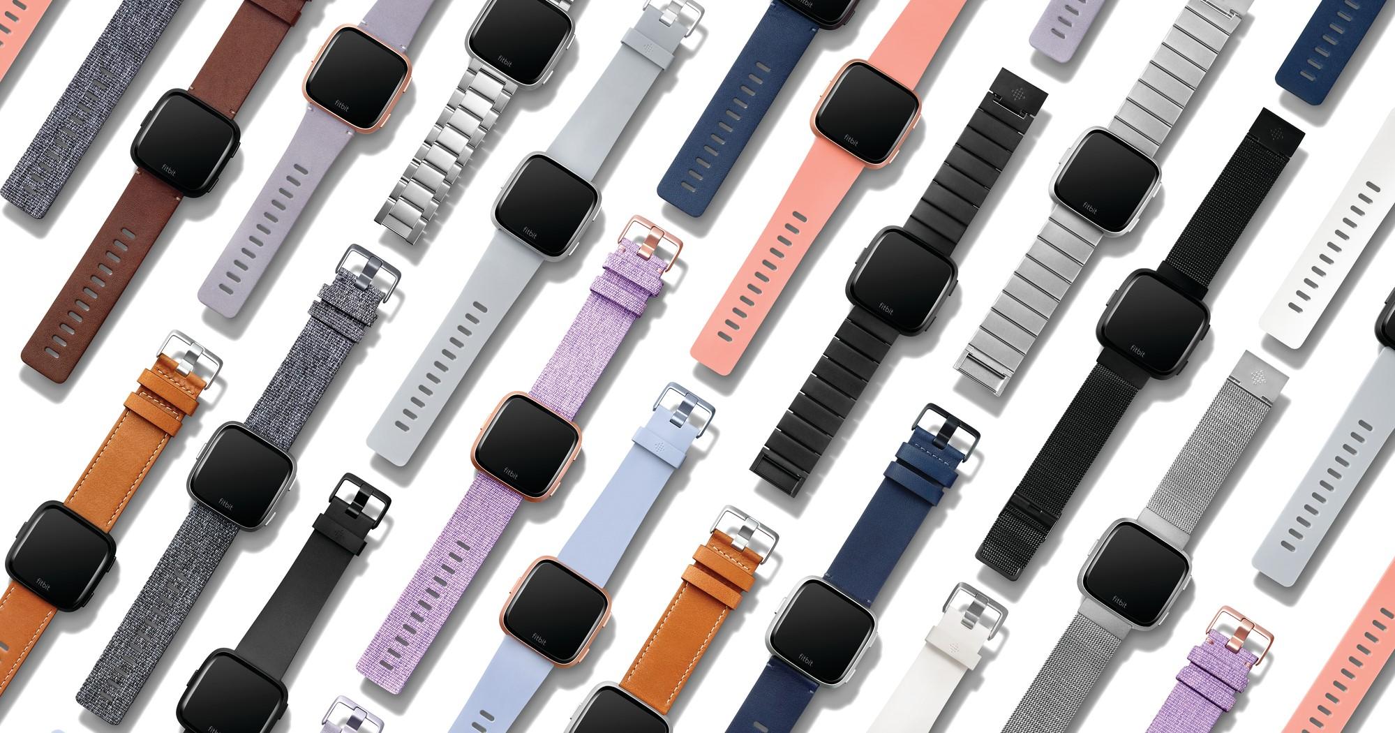 Fitbit's Versa smartwatches